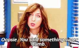 Watch Brooklyn Nine-Nine - Oopsie GIF by @chibaking on Gfycat. Discover more related GIFs on Gfycat