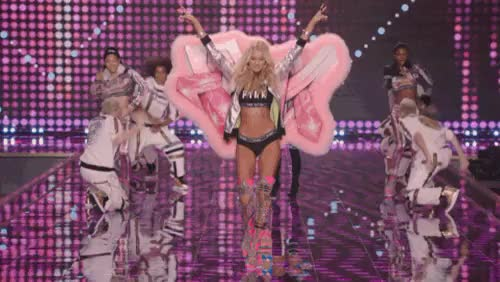 Watch and share Victorias Secret GIFs and Elsa Hosk GIFs on Gfycat