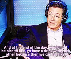 Watch and share Stephen Colbert GIFs and Howard Stern GIFs on Gfycat