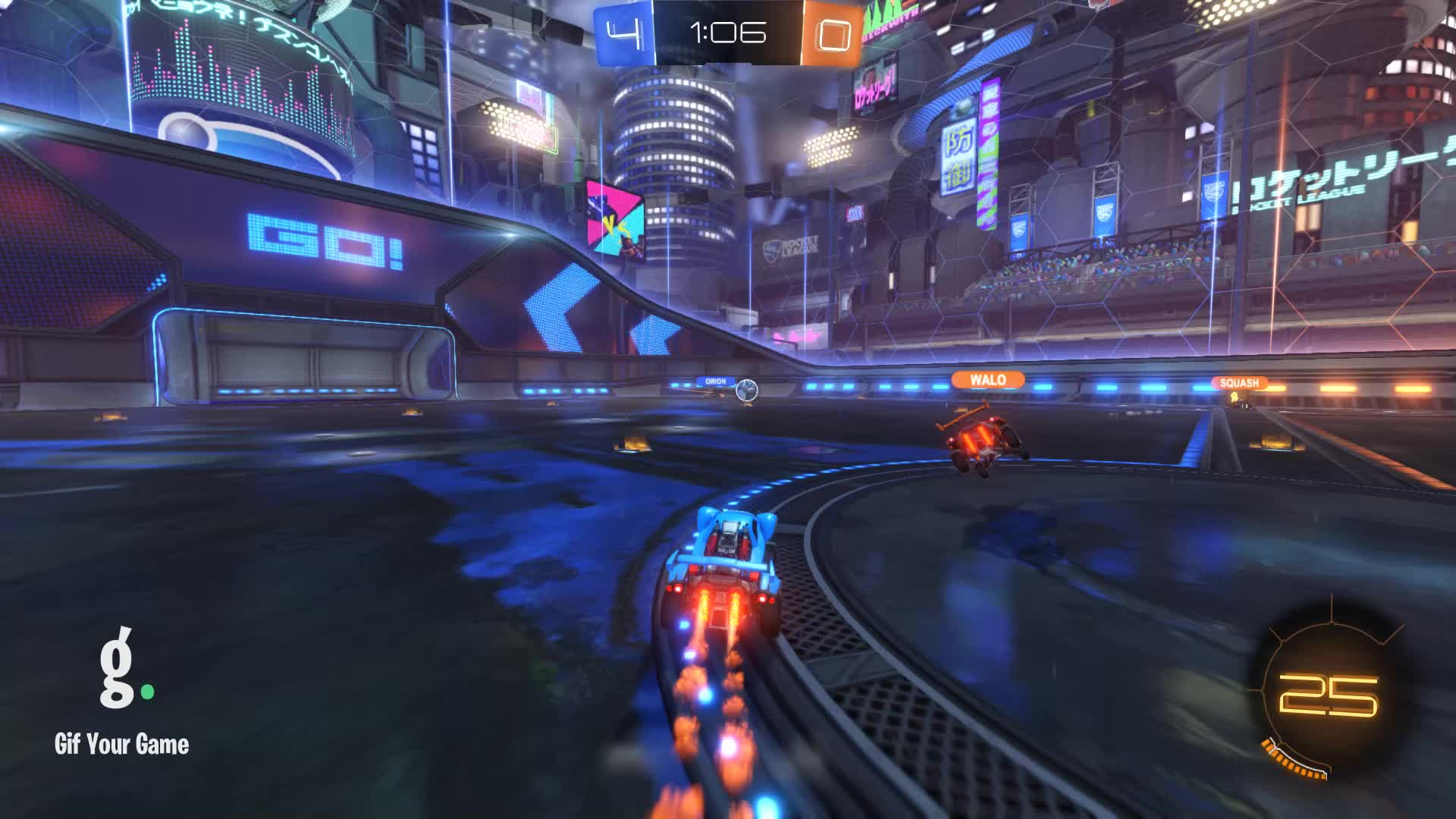 Gif Your Game, GifYourGame, Goal, HONORIS, Rocket League, RocketLeague, Goal 5: Squash GIFs
