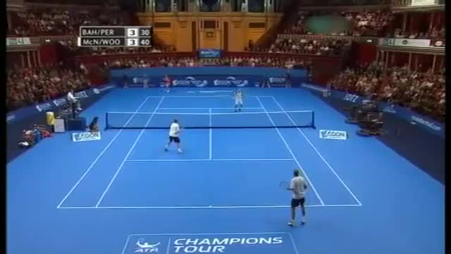 Watch and share MANSOUR BAHRAMI - Tennis' Greatest Entertainer (reddit) GIFs on Gfycat