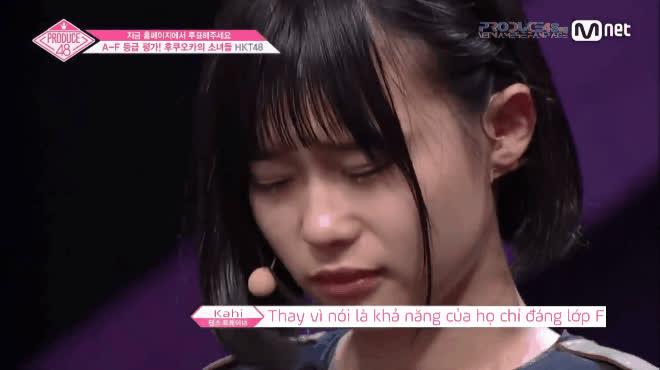 Thực tập sinh Nhật gây sốc nặng vì quá kém tại Produce48