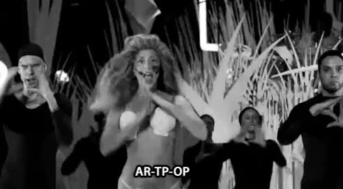 Watch At the VMAs 2013 GIF on Gfycat. Discover more black and white, gaga, gifs, lady gaga GIFs on Gfycat