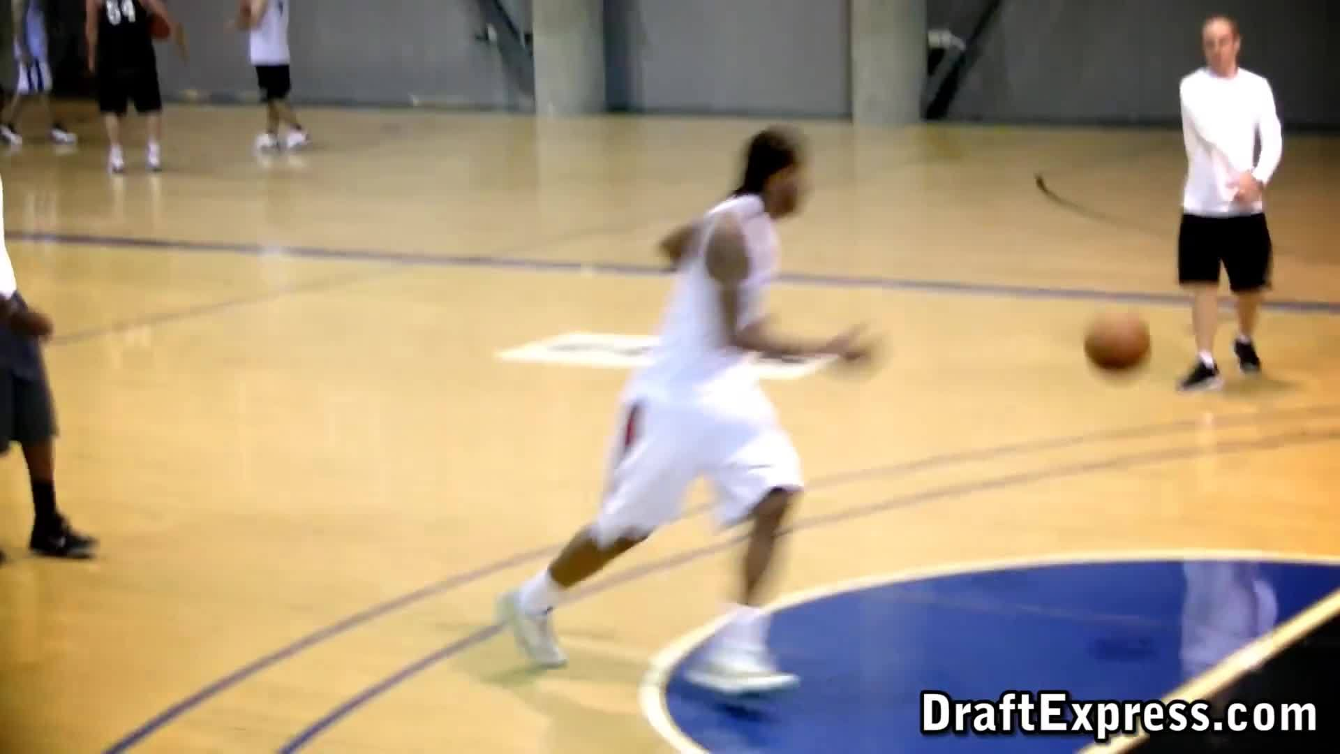 kawhi, nbaspurs, san, DraftExpress - Kawhi Leonard Pre-Draft Workout & Interview GIFs