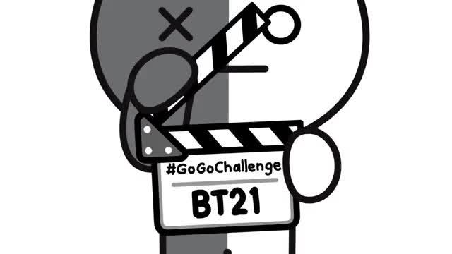 Watch and share [BT21] #gogochallenge GIFs on Gfycat