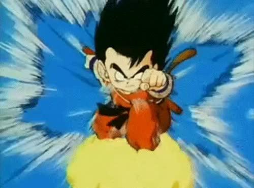 Watch and share Kid Goku GIFs and Nimbus GIFs by Jeirin on Gfycat
