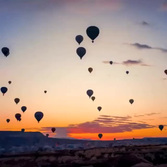 Watch and share Hot Air Balloon GIFs and Timelapse GIFs on Gfycat