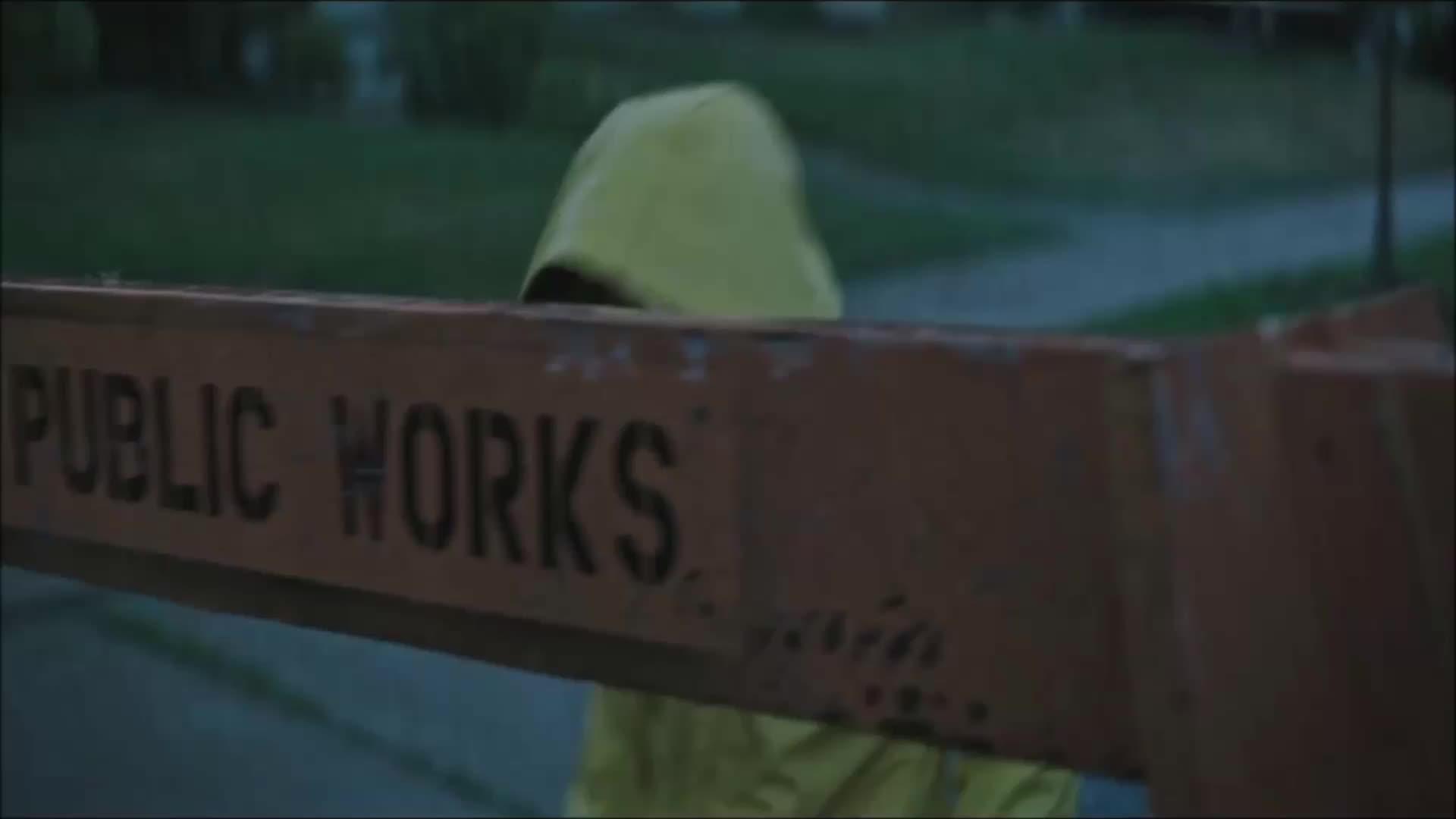 clown, creepy, horror, it, it movie, scary, warner bros., warnerbros, wb, Ouch. GIFs