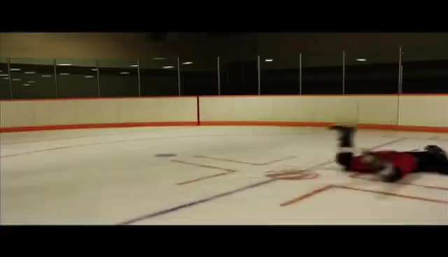 Watch and share Hockey GIFs and Slide GIFs on Gfycat