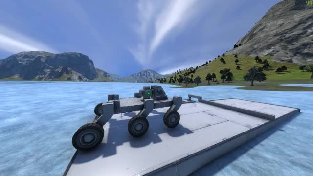 Watch and share Space Engineers - Christie Suspension Test GIFs on Gfycat