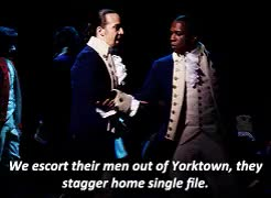 Watch and share Hamilton Broadway GIFs and Theatreedit GIFs on Gfycat