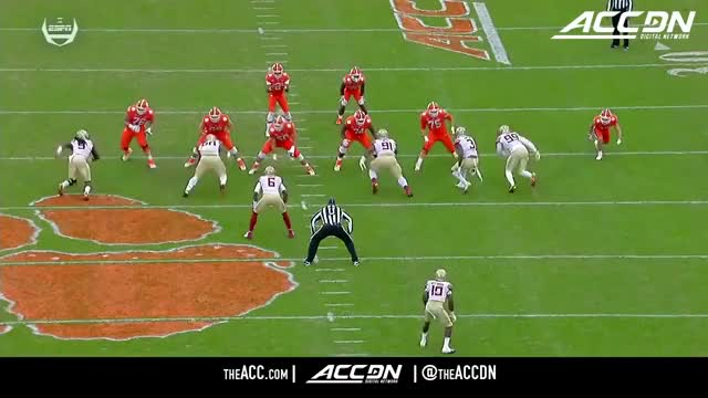 Watch Brian Burns inside spin vs Clemson 2017 GIF by Peakh23 (@peakh23) on Gfycat. Discover more football GIFs on Gfycat