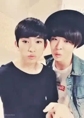 Watch and share Choi Youngjae GIFs and Park Jinyoung GIFs on Gfycat