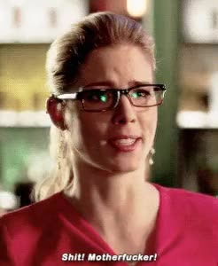 Watch Emily Bett Rickards + Her Potty Mouth GIF on Gfycat. Discover more arrow, arrowcastedit, arrowedit, ebredit, emily bett rickards, gifs, s3 gag reel, she's so adorable GIFs on Gfycat