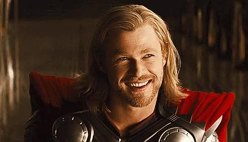 Watch this thor GIF by GIF Queen (@ioanna) on Gfycat. Discover more blond, cute, flirt, flirty, hunk, in, love, marvel, mjolnir, sexy, smile, stormbreaker, superhero, thor, thor ragnarok, wink GIFs on Gfycat
