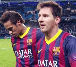 B2RG, Lionel Messi, Messi, Victor Valdes, neymar, Barca GIFs