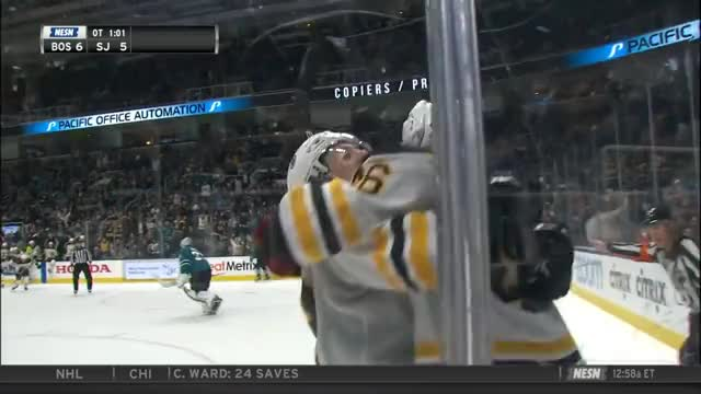 Watch Full Bruins Sharks OT GIF by Beep Boop (@hockeyrobotthing) on Gfycat. Discover more Boston Bruins, hockey GIFs on Gfycat