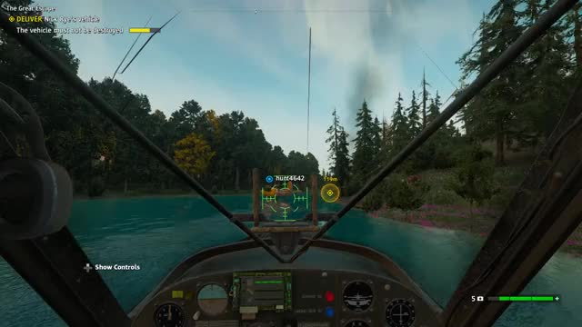 Watch and share [Far Cry New Dawn] Multiplayer Plane Glitch GIFs by logloxan on Gfycat