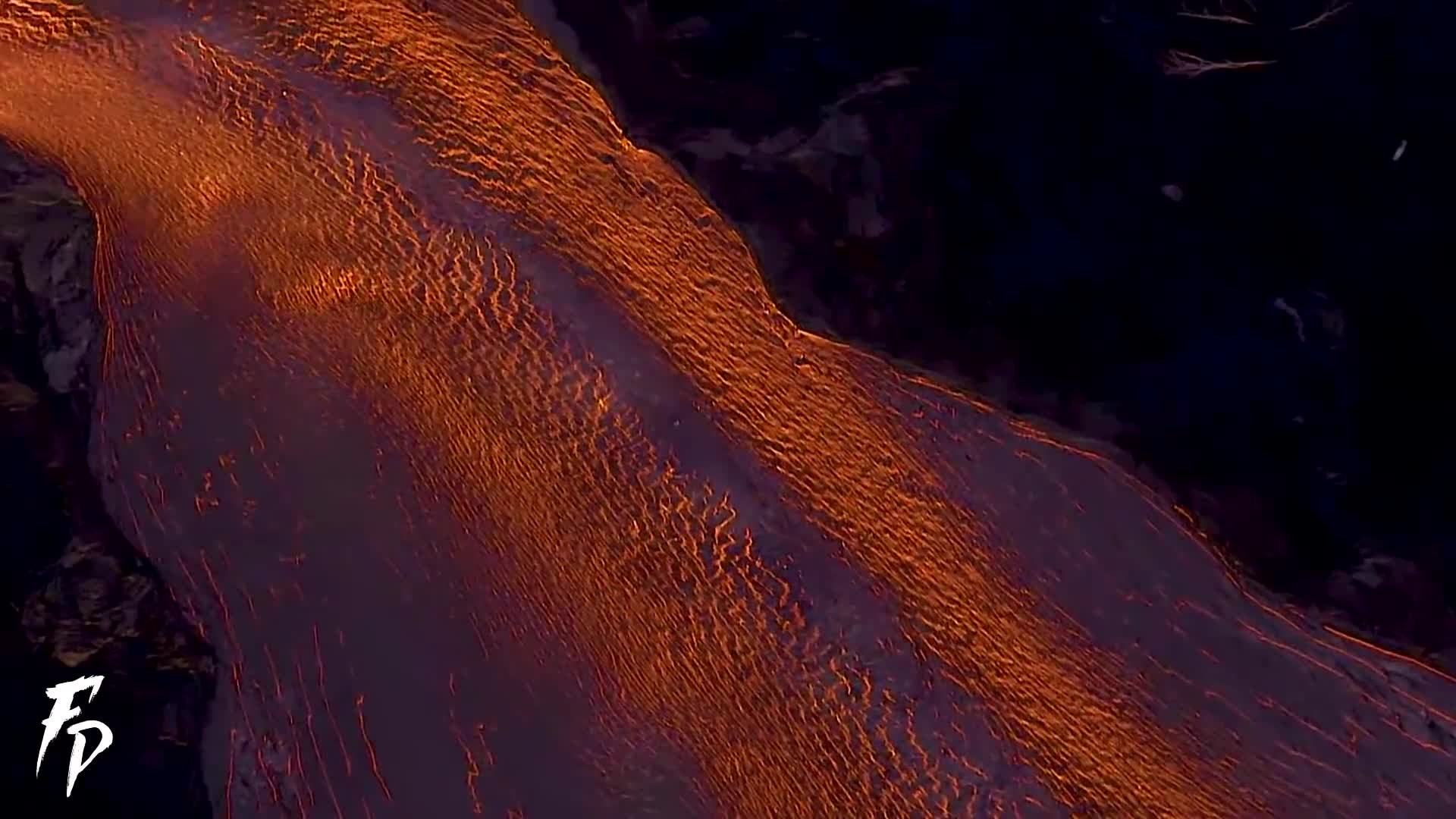 Aerial footage of eruption in Hawaii 2018, Fissure 8, Lava does non stop, hawaii, hawaii volcano, lava, lava flow, lava flowing into the ocean, volcano, Lava GIFs