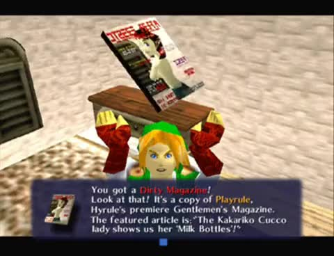 Watch Link Magazine GIF on Gfycat. Discover more Dirty, Legend, Link, Nintendo, Orcarina, Zelda, magazine GIFs on Gfycat