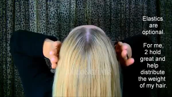 Watch JJJ's 2 Stick Cinnamon Bun for very long hair-FLOOR LENGTH (reddit) GIF on Gfycat. Discover more TyingAPonytail, tyingaponytail GIFs on Gfycat