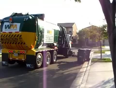 Watch and share Automated Trash Truck Pickup. Amazing GIFs on Gfycat