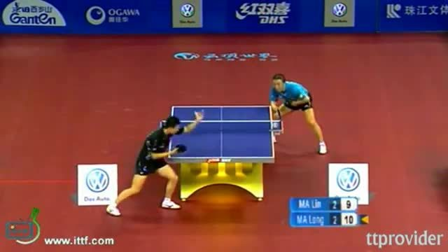 tabletennis, [GIF] Ma Lin vs Ma Long great point (reddit) GIFs