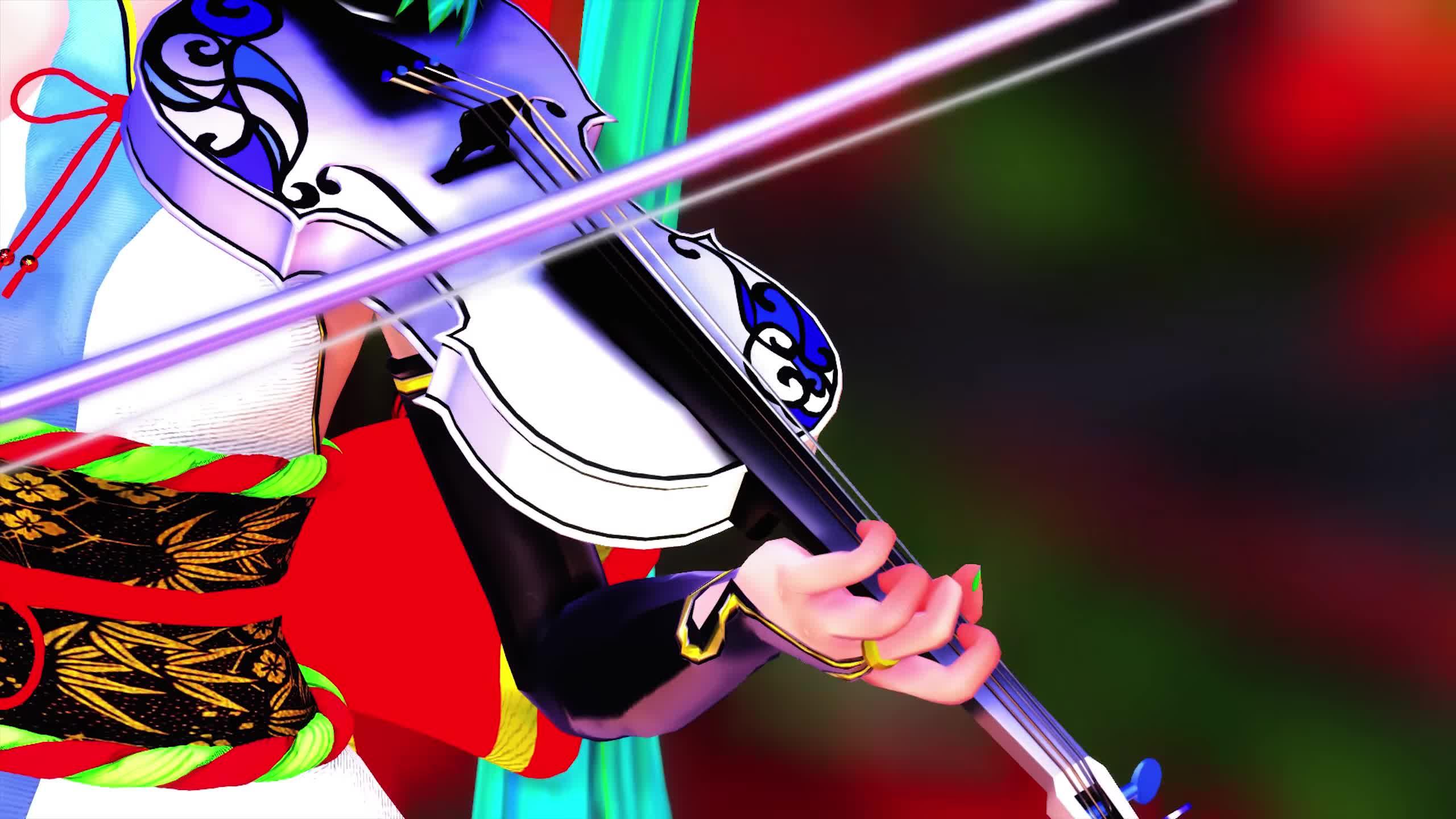 【MMD】 Senbonzakura 千本桜 Violin Cover Violin Lindsey Stirling