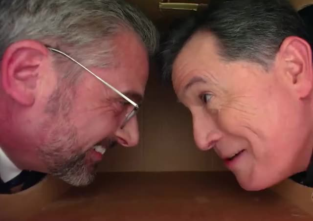 Watch this curated GIF by The GIF Farmer (@giffarmer) on Gfycat. Discover more best, bff, box, carell, colbert, epic, friends, funny, hilarious, joke, joking, laugh, lol, loud, out, personal, smile, space, stephen, steve GIFs on Gfycat