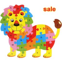 Watch and share Cheap Wholesale-Free Delivery Lion Butterflies Turtle Fish Hippo 26PCS Of Wooden Puzzle, Children Kids Educational Toys, ONE Piece Puzzle GIFs on Gfycat