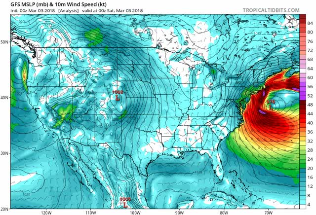 Watch gfs mslp wind us fh-72-384 GIF by The Watchers (@thewatchers) on Gfycat. Discover more related GIFs on Gfycat