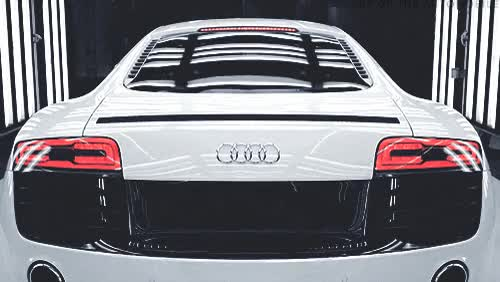 Shades GIFs Search Find Make Share Gfycat GIFs - Audi car in 50 shades of grey