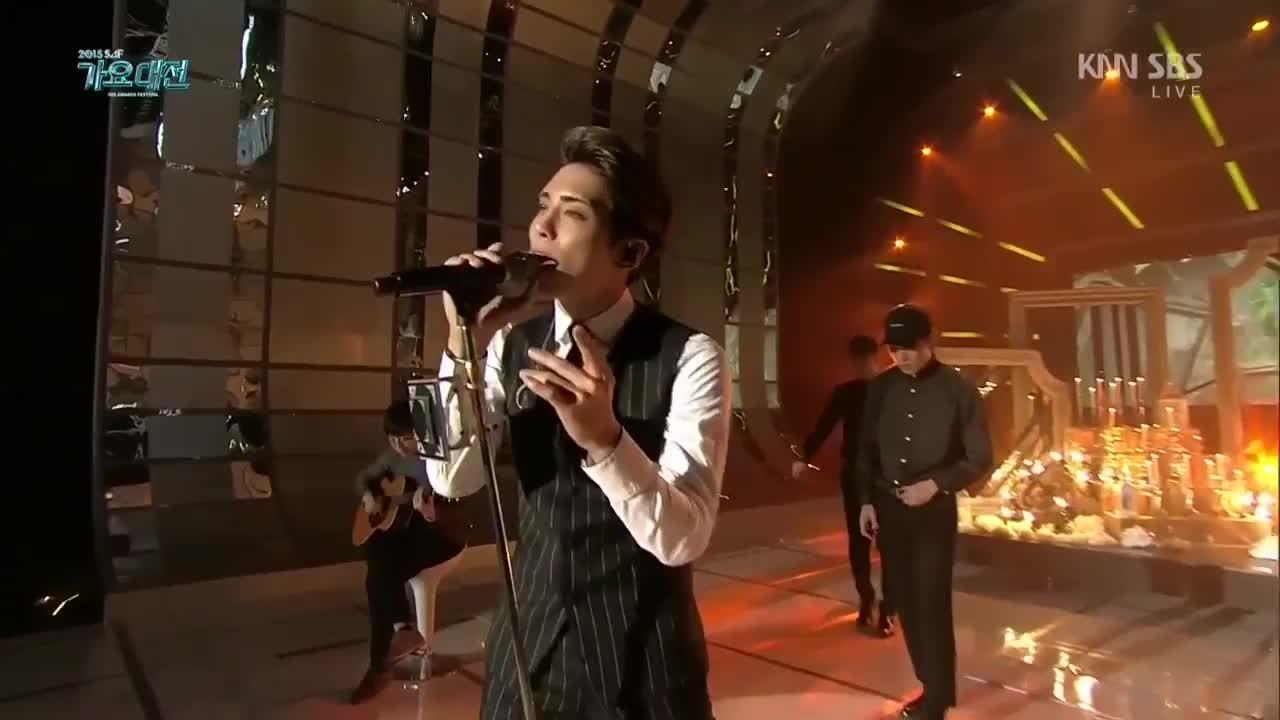 kpics, kpopslumberparty, Jonghyun - Deja Boo (feat. Yubin) [271215] [01] GIFs