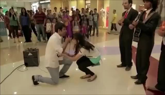 Watch and share Marriage Proposal Fail GIFs on Gfycat