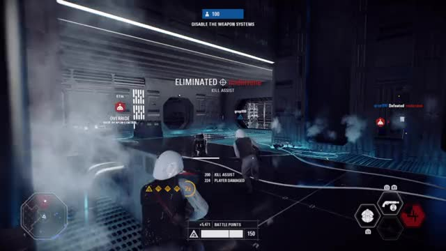 Watch and share STAR WARS™ Battlefront™ II 20180218152323 GIFs on Gfycat