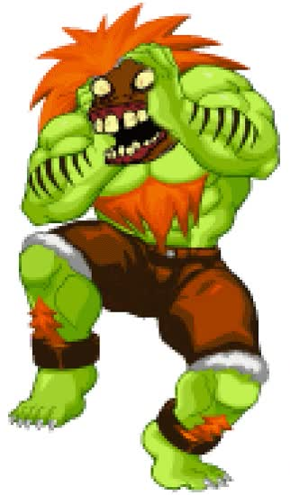 Watch and share Blanka Street Fighter 2 GIFs on Gfycat