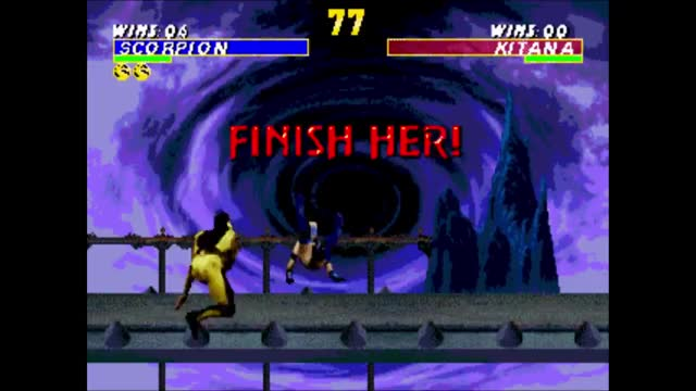 Watch and share MK3 - Hell Fatality (Genesis) GIFs by 76sup on Gfycat