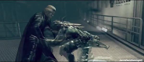 metalmemes, Resident Evil 5 Albert Wesker Cutscene Rematch【HD】 (reddit) GIFs