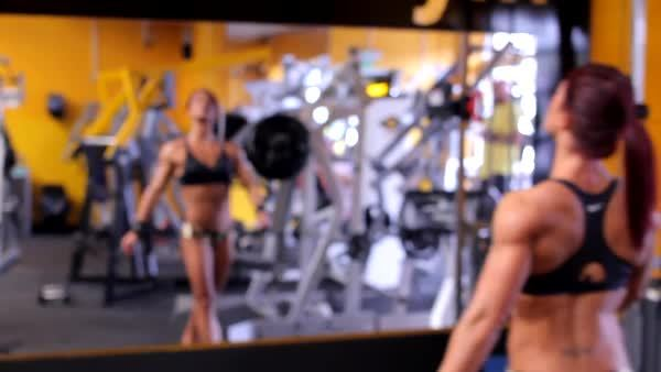 FitWomenGifs, MuscleWorship, Rebecca Maughan GIFs