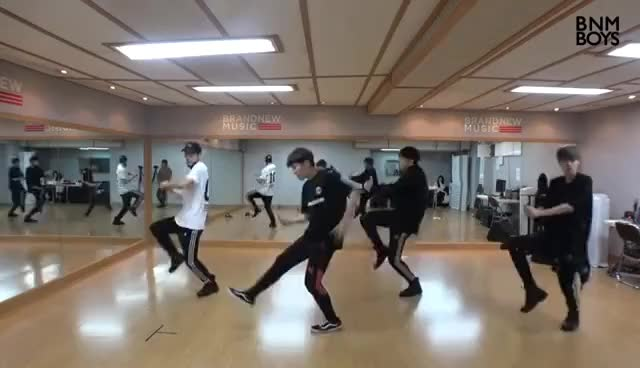 Watch and share BNM BOYS – 'Hollywood' DANCE PRACTICE VIDEO GIFs on Gfycat