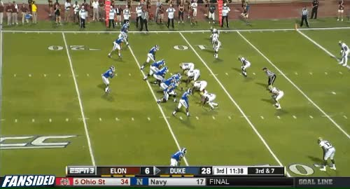 A. Boone pass,to J. Crowder for 13 yds for a TD