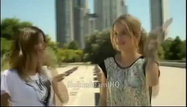 Watch this trending GIF on Gfycat. Discover more Martina Stoessel Bridgit Mendler GIFs on Gfycat