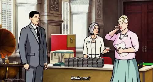 Watch and share Sterling Archer GIFs and Archer Fx Gifs GIFs on Gfycat