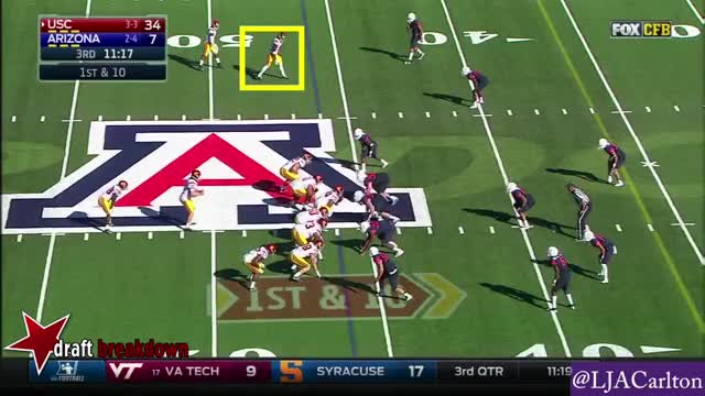 Watch Juju Smith-Schuster vs. Arizona (2016) (block) GIF by Sean McKaveney (@seanmckaveney) on Gfycat. Discover more juju, schuster, smith GIFs on Gfycat