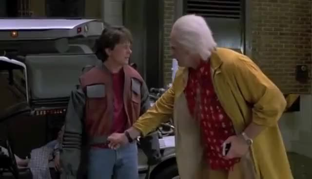Watch 2015 GIF on Gfycat. Discover more back to the future jacket GIFs on Gfycat
