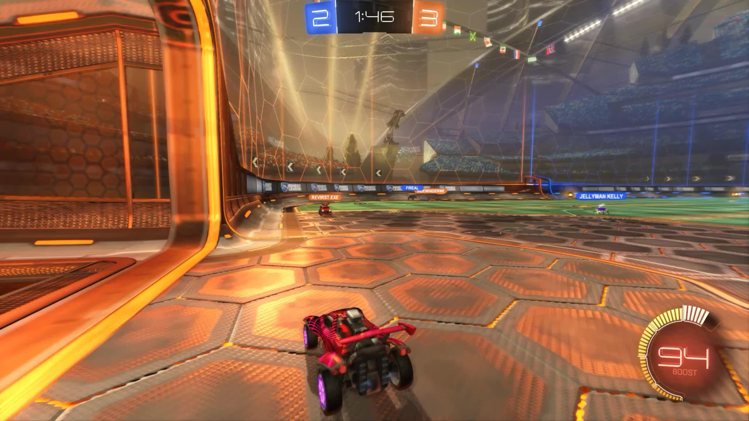 Bad Panda, BadPanda, Rocket League, RocketLeague, Goal 6: Fireal GIFs