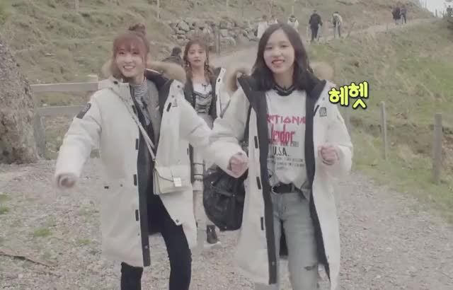 Watch V Live - Twice Tv5 -Twice In Switzerland- Ep.20-3 GIF on Gfycat. Discover more related GIFs on Gfycat