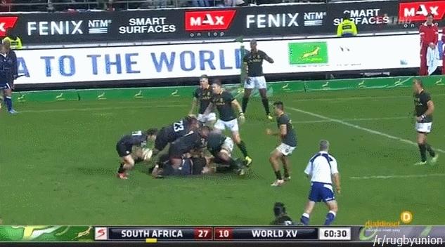 herecomestheboom, rugbyunion, Jordan Taufua vs. Marcell Coetzee - Huge Hit GIFs
