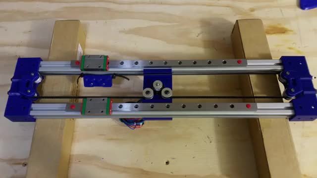 Watch Dual Rail Bed - Center Mount Stepper - Prototype 1 GIF by bornity (@bornity) on Gfycat. Discover more 3D Printer GIFs on Gfycat