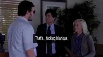 Watch I love Rob Lowe's reaction here so much :D (reddit) GIF on Gfycat. Discover more pandr GIFs on Gfycat